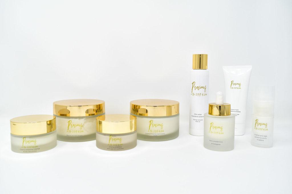Precious Cosmetics | Cosmetici con Olio D.O.P del Garda